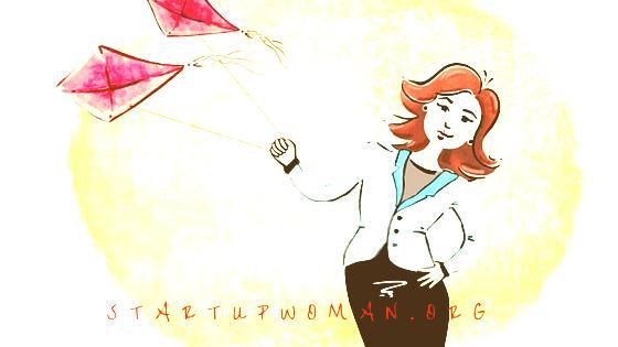 StartUpWoman-Kite-antique