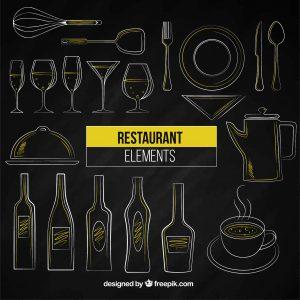 Food wektory designed by Freepik